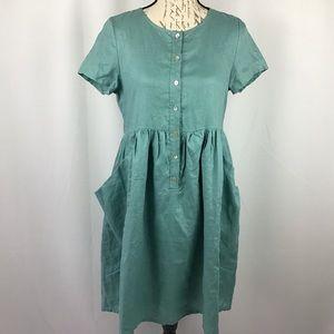 The Nashville linen dress by Listicle